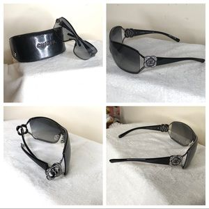 Authentic Chanel 4164B Shield Style Sunglasses